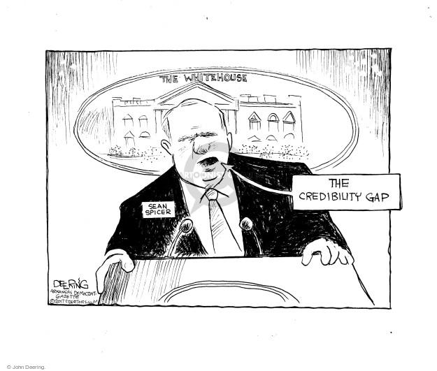 Cartoonist John Deering  John Deering's Editorial Cartoons 2017-04-01 speech