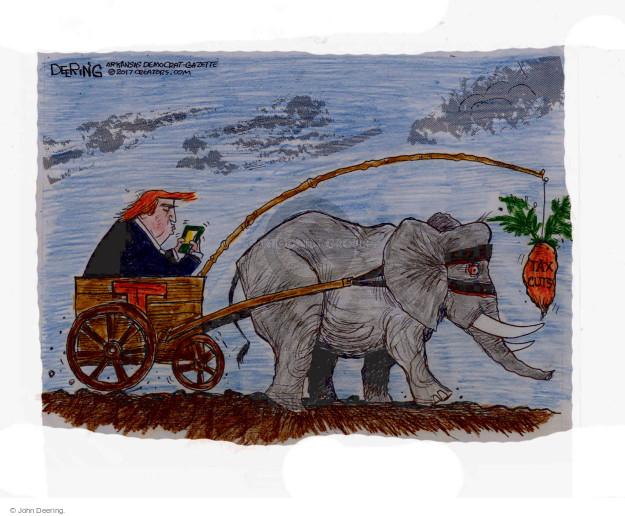 John Deering  John Deering's Editorial Cartoons 2017-04-28 Donald Trump Republicans