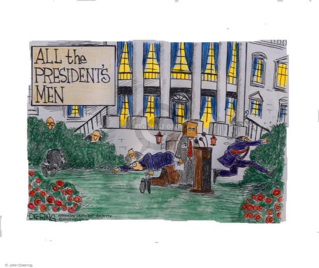 Cartoonist John Deering  John Deering's Editorial Cartoons 2017-05-18 politics