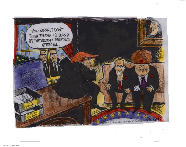 Cartoonist John Deering  John Deering's Editorial Cartoons 2017-05-25 politics