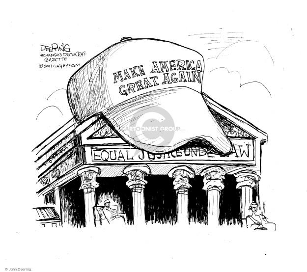 Cartoonist John Deering  John Deering's Editorial Cartoons 2017-06-28 government