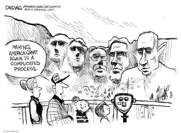 Cartoonist John Deering  John Deering's Editorial Cartoons 2017-07-16 politics