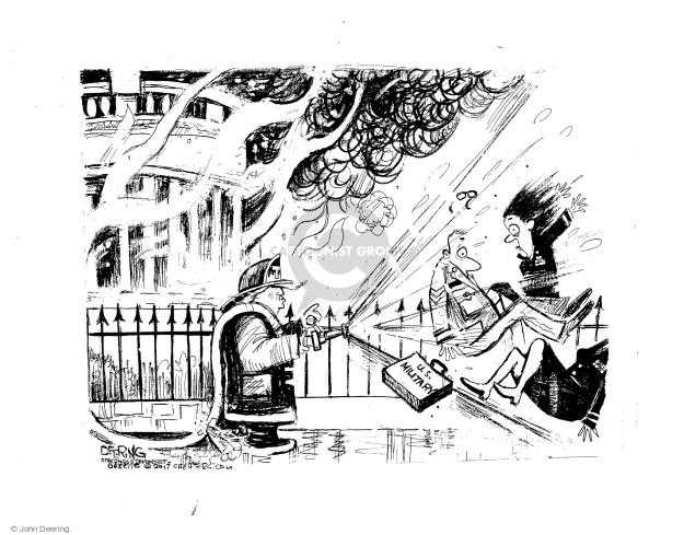 Cartoonist John Deering  John Deering's Editorial Cartoons 2017-07-29 house