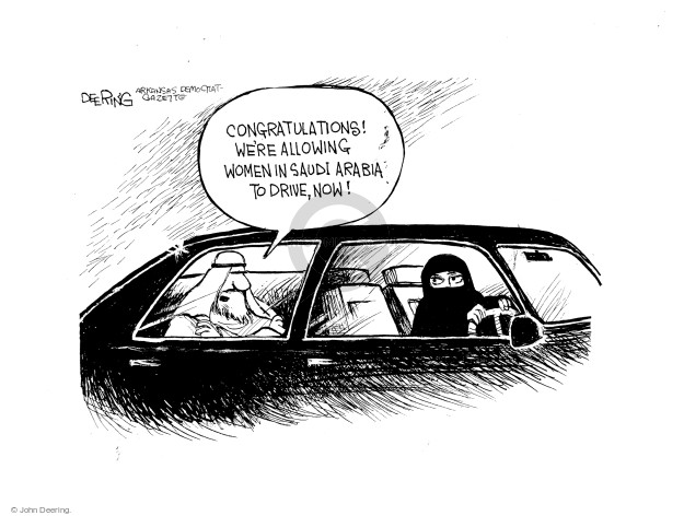 John Deering  John Deering's Editorial Cartoons 2017-10-02 international affairs