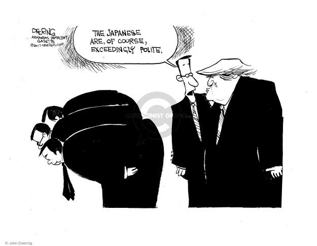 Cartoonist John Deering  John Deering's Editorial Cartoons 2017-11-14 president