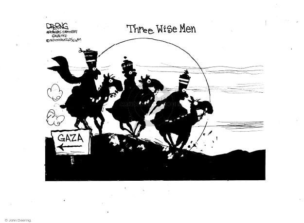 Three Wise Men. Gaza.