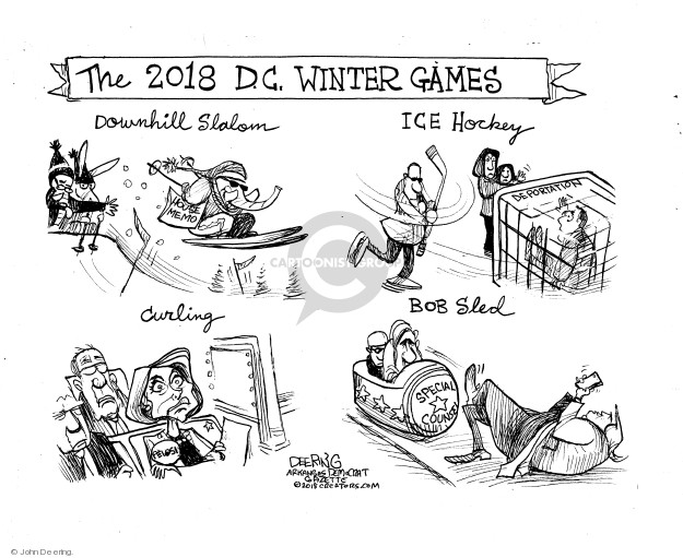 Cartoonist John Deering  John Deering's Editorial Cartoons 2018-02-06 editorial