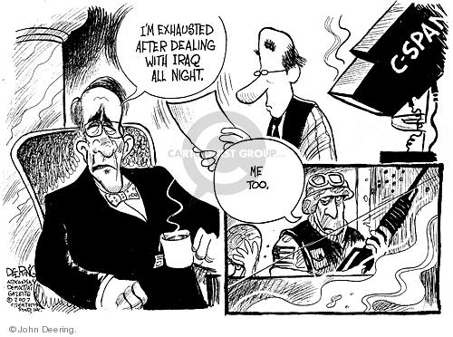 Cartoonist John Deering  John Deering's Editorial Cartoons 2007-07-19 coverage