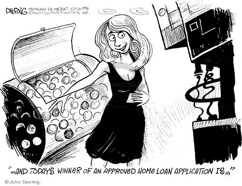 John Deering  John Deering's Editorial Cartoons 2007-08-10 house
