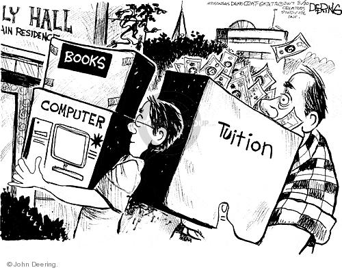 Cartoonist John Deering  John Deering's Editorial Cartoons 2007-08-21 hall