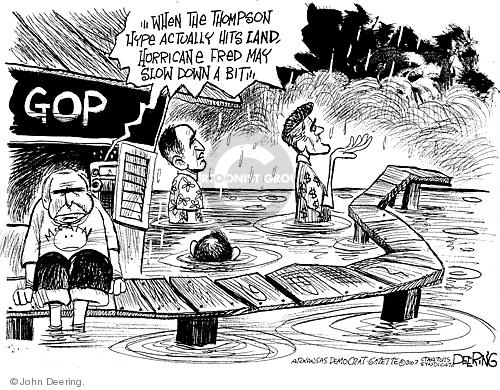 John Deering  John Deering's Editorial Cartoons 2007-08-22 Rudy Giuliani