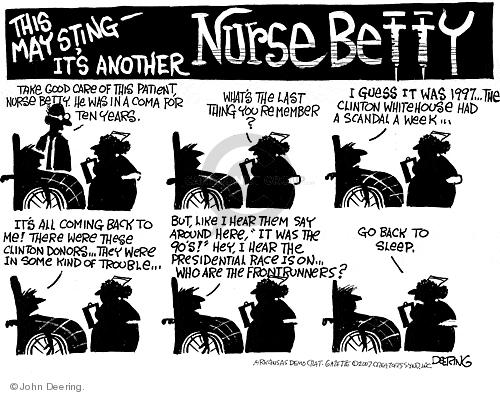 Cartoonist John Deering  John Deering's Editorial Cartoons 2007-09-12 senator