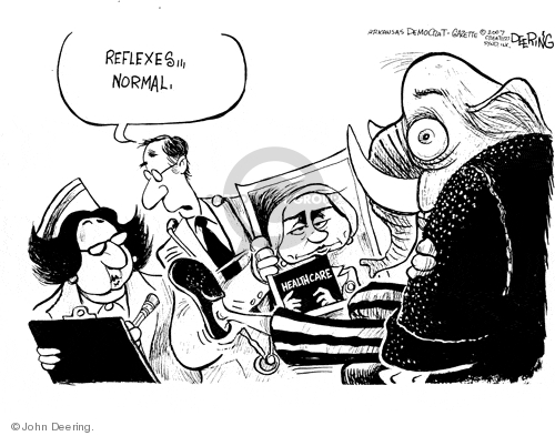 John Deering  John Deering's Editorial Cartoons 2007-09-21 republican