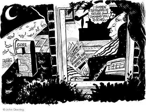 John Deering  John Deering's Editorial Cartoons 2007-10-12 environment