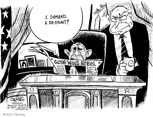 Cartoonist John Deering  John Deering's Editorial Cartoons 2007-10-15 Bush Cheney