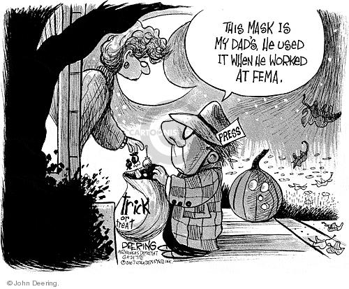 Cartoonist John Deering  John Deering's Editorial Cartoons 2007-10-31 Jack