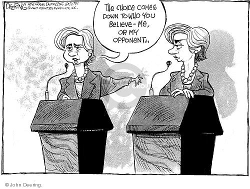 Cartoonist John Deering  John Deering's Editorial Cartoons 2007-11-01 senator