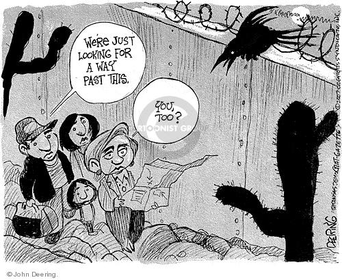 Cartoonist John Deering  John Deering's Editorial Cartoons 2007-11-08 senator