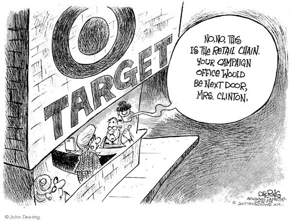 Cartoonist John Deering  John Deering's Editorial Cartoons 2007-11-12 senator