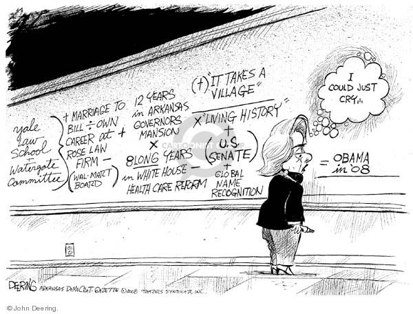 Cartoonist John Deering  John Deering's Editorial Cartoons 2008-01-08 senator