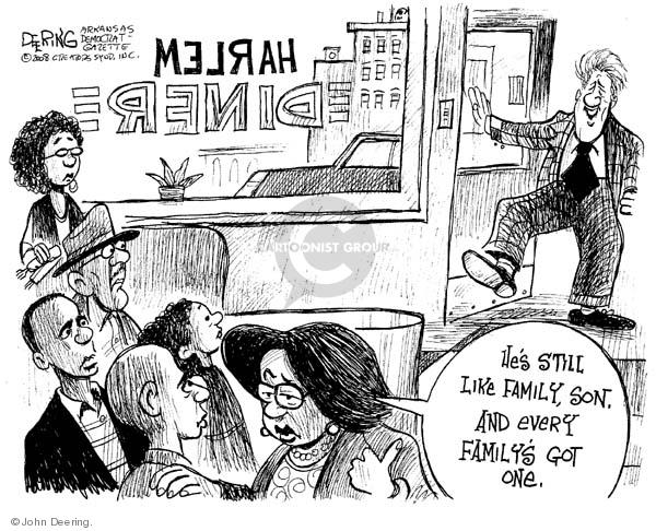 Cartoonist John Deering  John Deering's Editorial Cartoons 2008-01-23 senator