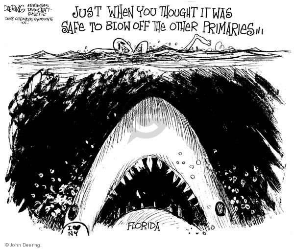 Cartoonist John Deering  John Deering's Editorial Cartoons 2008-01-29 senator