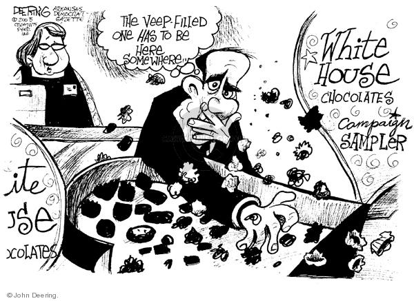 John Deering  John Deering's Editorial Cartoons 2008-02-12 chocolate box