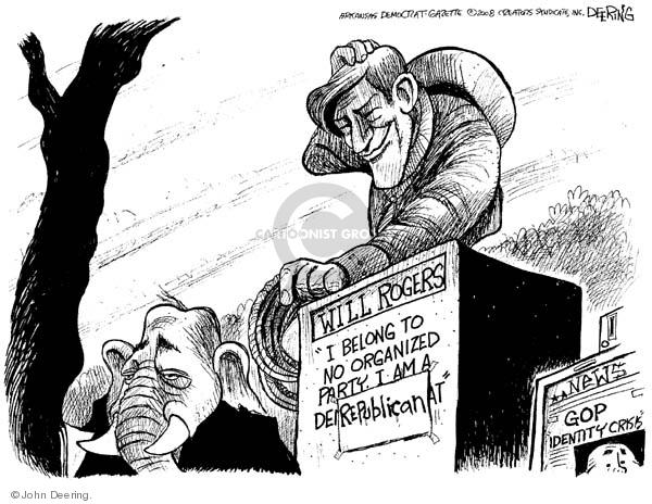 John Deering  John Deering's Editorial Cartoons 2008-02-14 identity