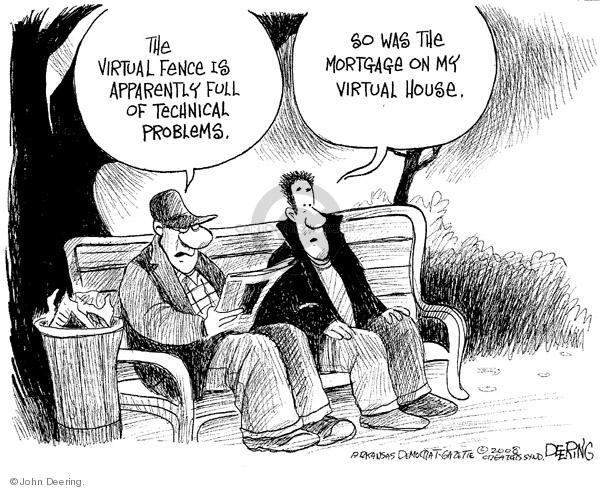 John Deering  John Deering's Editorial Cartoons 2008-03-01 security