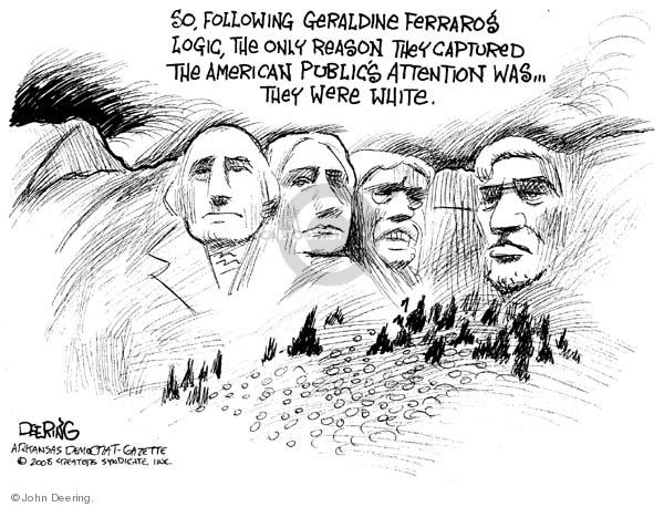 John Deering  John Deering's Editorial Cartoons 2008-03-17 Theodore Roosevelt