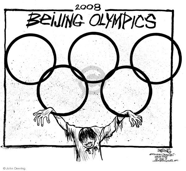 John Deering  John Deering's Editorial Cartoons 2008-03-26 2008 Olympics