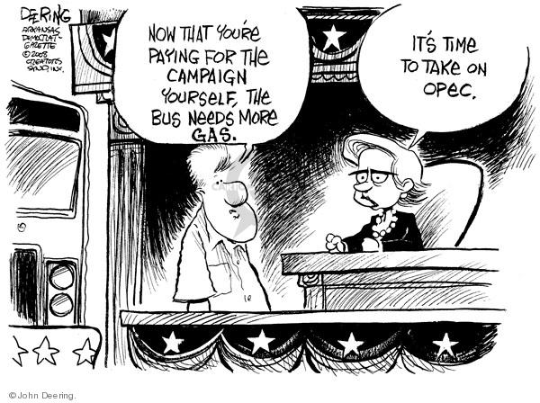 Cartoonist John Deering  John Deering's Editorial Cartoons 2008-05-09 gas price