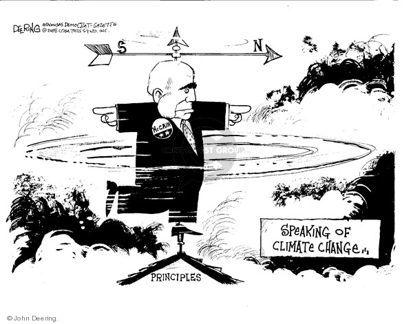 John Deering  John Deering's Editorial Cartoons 2008-05-15 environment
