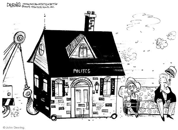 John Deering  John Deering's Editorial Cartoons 2008-06-04 house