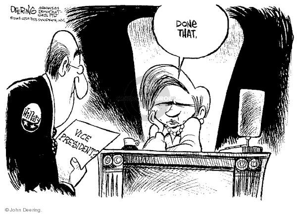 John Deering  John Deering's Editorial Cartoons 2008-06-05 first lady