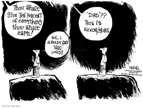Cartoonist John Deering  John Deering's Editorial Cartoons 2008-06-06 John