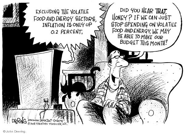 Cartoonist John Deering  John Deering's Editorial Cartoons 2008-06-19 gas price