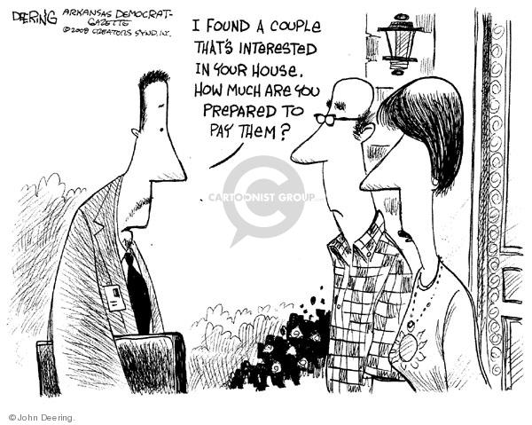 John Deering  John Deering's Editorial Cartoons 2008-07-01 economy
