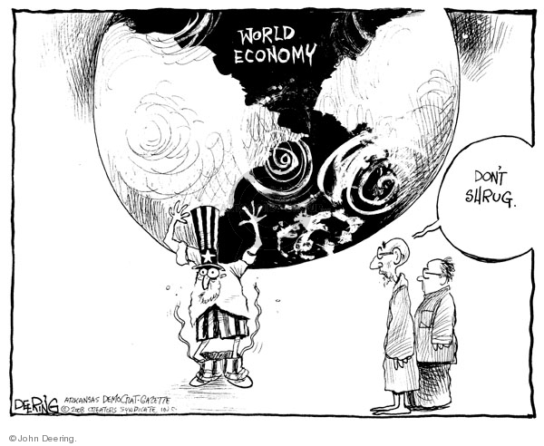 Cartoonist John Deering  John Deering's Editorial Cartoons 2008-07-17 John