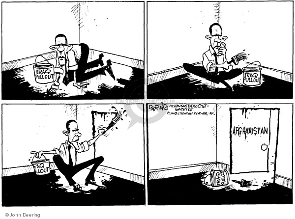 Cartoonist John Deering  John Deering's Editorial Cartoons 2008-07-21 Iraq