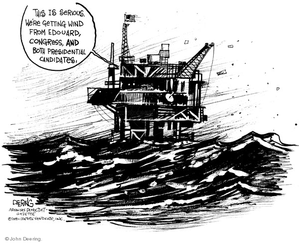John Deering  John Deering's Editorial Cartoons 2008-08-04 environment