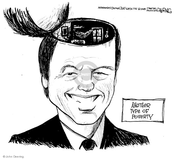 John Deering  John Deering's Editorial Cartoons 2008-08-11 stupid