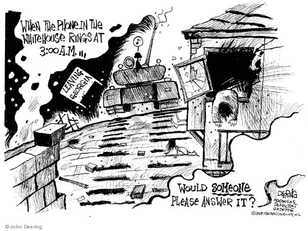 John Deering  John Deering's Editorial Cartoons 2008-08-13 house