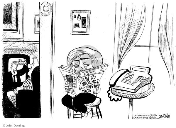 John Deering  John Deering's Editorial Cartoons 2008-08-22 Bill Clinton election