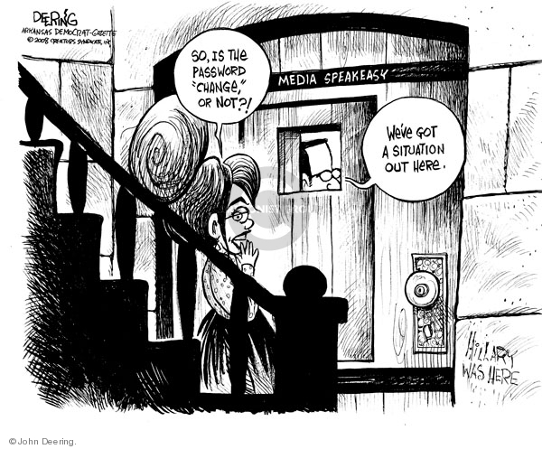 John Deering  John Deering's Editorial Cartoons 2008-09-04 election journalism