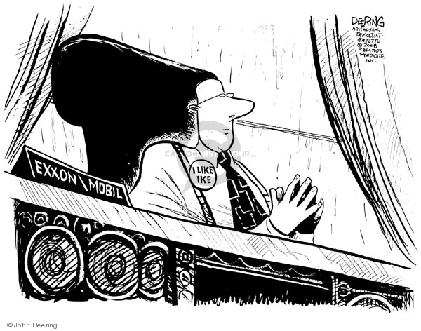 Cartoonist John Deering  John Deering's Editorial Cartoons 2008-09-15 gas