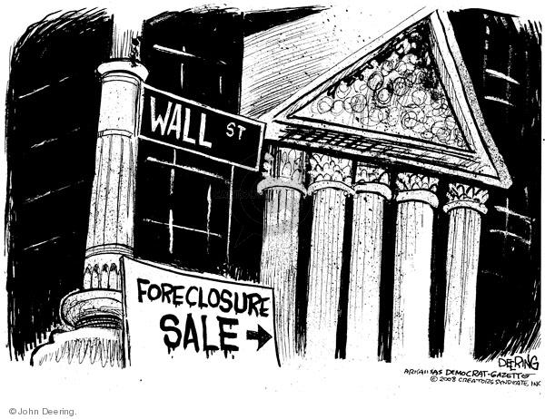 Cartoonist John Deering  John Deering's Editorial Cartoons 2008-09-17 investment