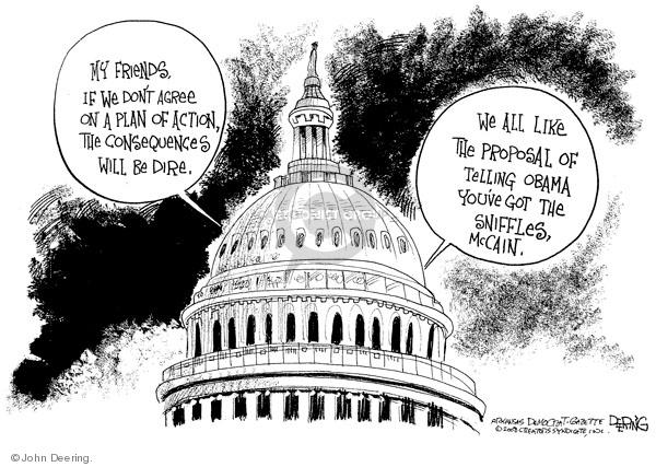 John Deering  John Deering's Editorial Cartoons 2008-09-25 stock market
