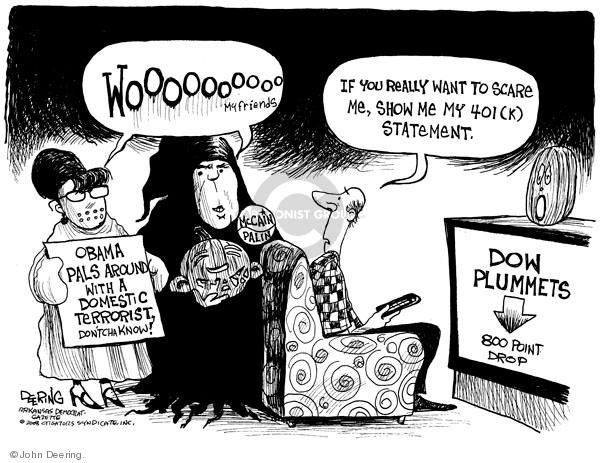Cartoonist John Deering  John Deering's Editorial Cartoons 2008-10-08 investment