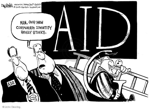John Deering  John Deering's Editorial Cartoons 2008-10-09 identity